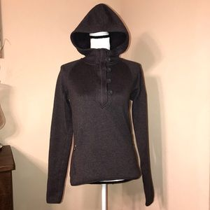 The North Face Gray Pullover Hoodie Sz M